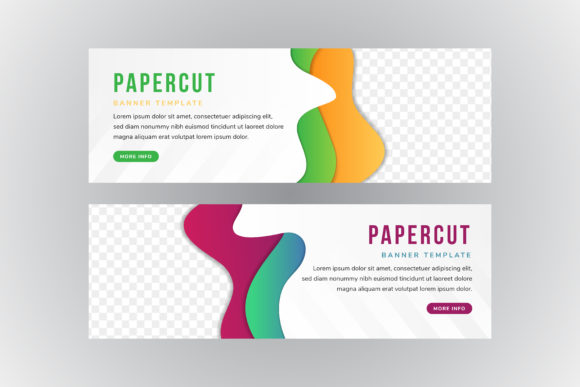 Download Free Paper Cut Gradient Abstract Green Graphic By Noory Shopper for Cricut Explore, Silhouette and other cutting machines.