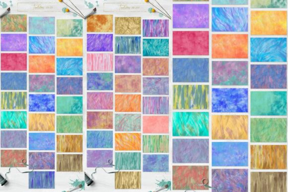 100 Bright Acrylic Textures Graphic Textures By NassyArt - Image 4