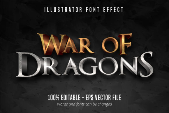 Download Free Glow Text 3d Editable Font Effect Graphic By Mustafa Beksen SVG Cut Files