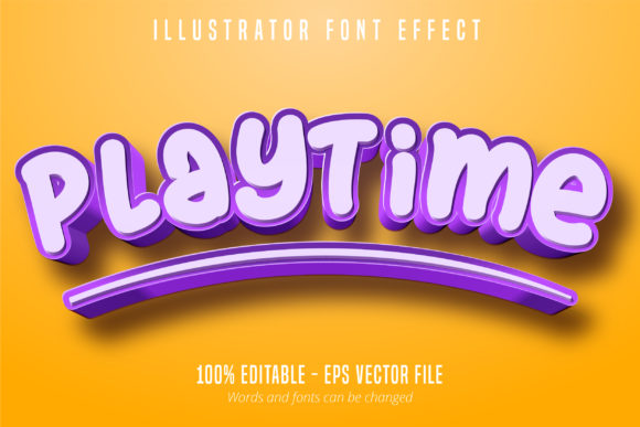 Download Free 3d Purple Editable Font Effect Graphic By Mustafa Beksen for Cricut Explore, Silhouette and other cutting machines.