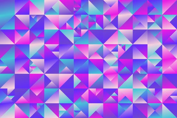 Abstract Gradient Triangle Background Graphic Backgrounds By davidzydd