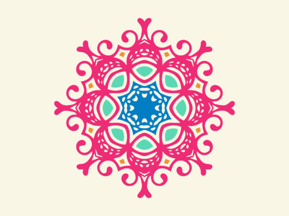 Download Free Abstract Ornament Element Art Decoration Graphic By Vectorceratops Creative Fabrica for Cricut Explore, Silhouette and other cutting machines.