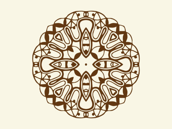 Download Free Abstract Ornament Element Decoration Graphic By Vectorceratops Creative Fabrica for Cricut Explore, Silhouette and other cutting machines.