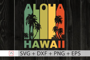 Download Free Aloha Hawaii Hawaiian Island Graphic By Novalia Creative Fabrica for Cricut Explore, Silhouette and other cutting machines.