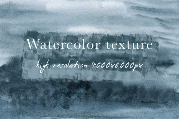 Download Free Dark Blue Grey Watercolor Texture Graphic By Fleurartmariia for Cricut Explore, Silhouette and other cutting machines.