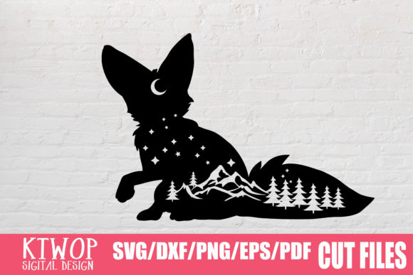 Download Free Fox Adventure Nature 2020 Graphic By Ktwop Creative Fabrica for Cricut Explore, Silhouette and other cutting machines.
