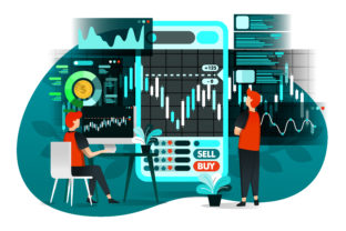 Download Free Illustration Of Stock Market Business Graphic By for Cricut Explore, Silhouette and other cutting machines.