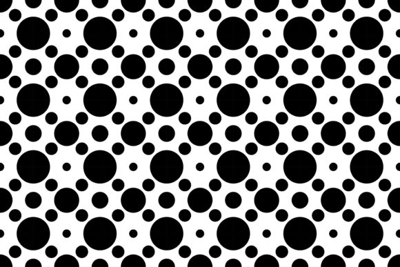 Download Free Isolated Of Polkadots Pattern Vector Graphic By Asesidea for Cricut Explore, Silhouette and other cutting machines.