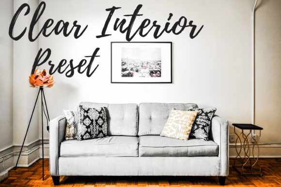 Print on Demand: Lightroom Presets - Clear Interior Graphic Actions & Presets By MyBeautifulFiles
