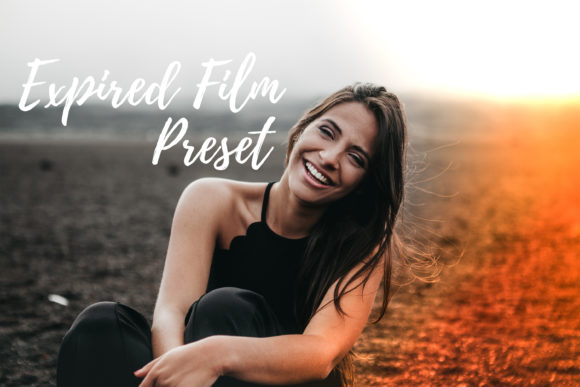 Print on Demand: Lightroom Presets - Expired Film Graphic Actions & Presets By MyBeautifulFiles