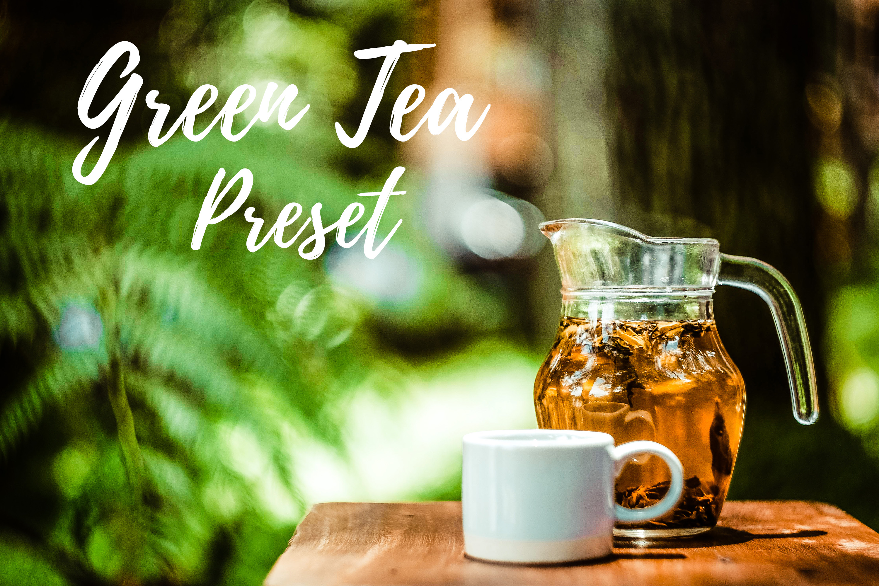 Download Free Lightroom Presets Green Tea Graphic By Mybeautifulfiles for Cricut Explore, Silhouette and other cutting machines.