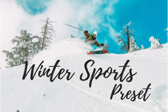 Download Free Lightroom Presets Winter Sports Graphic By Mybeautifulfiles for Cricut Explore, Silhouette and other cutting machines.