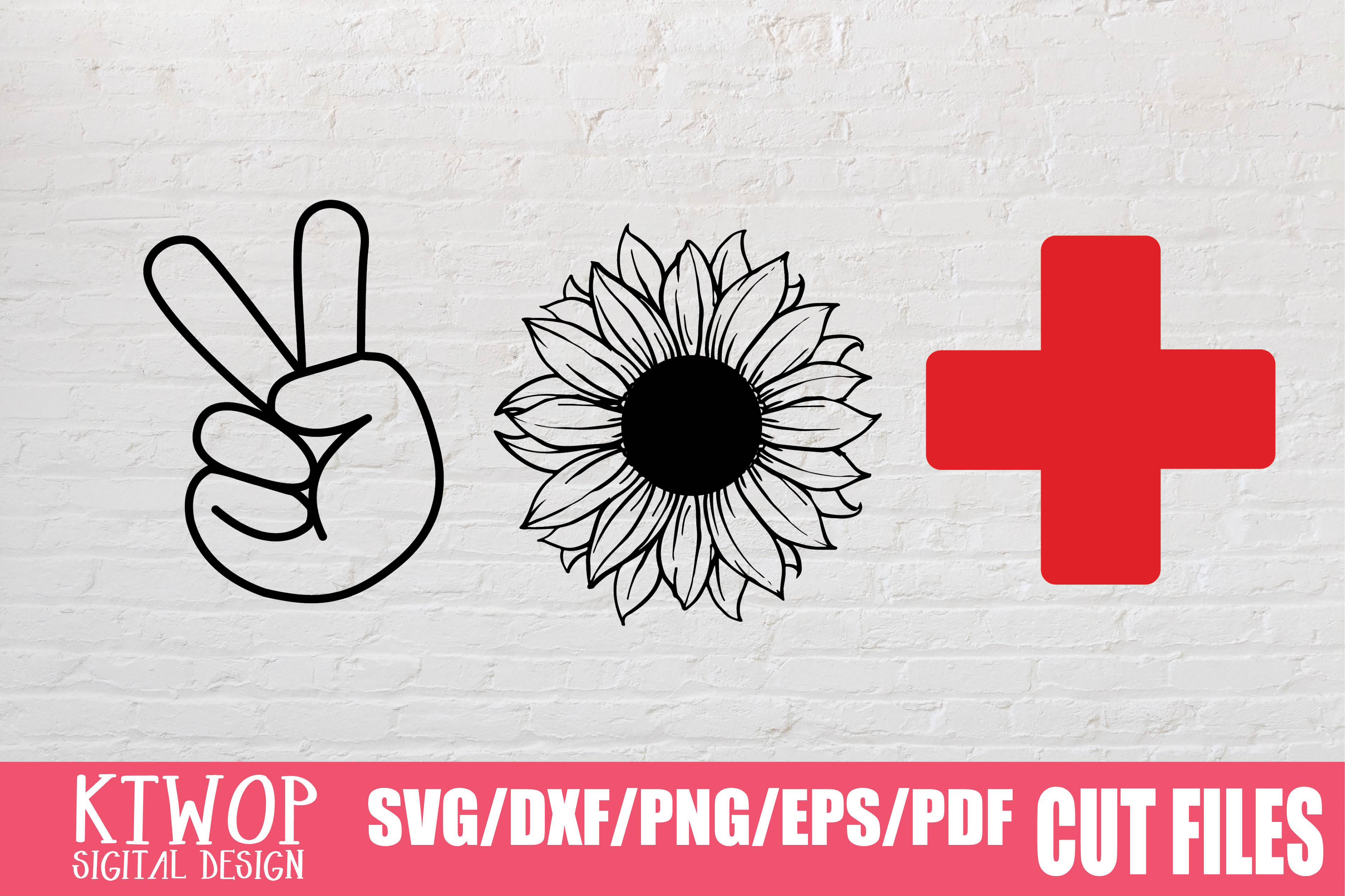 Download Free Peace Sunflower Nurse 2020 Graphic By Mr Pagman Creative Fabrica for Cricut Explore, Silhouette and other cutting machines.