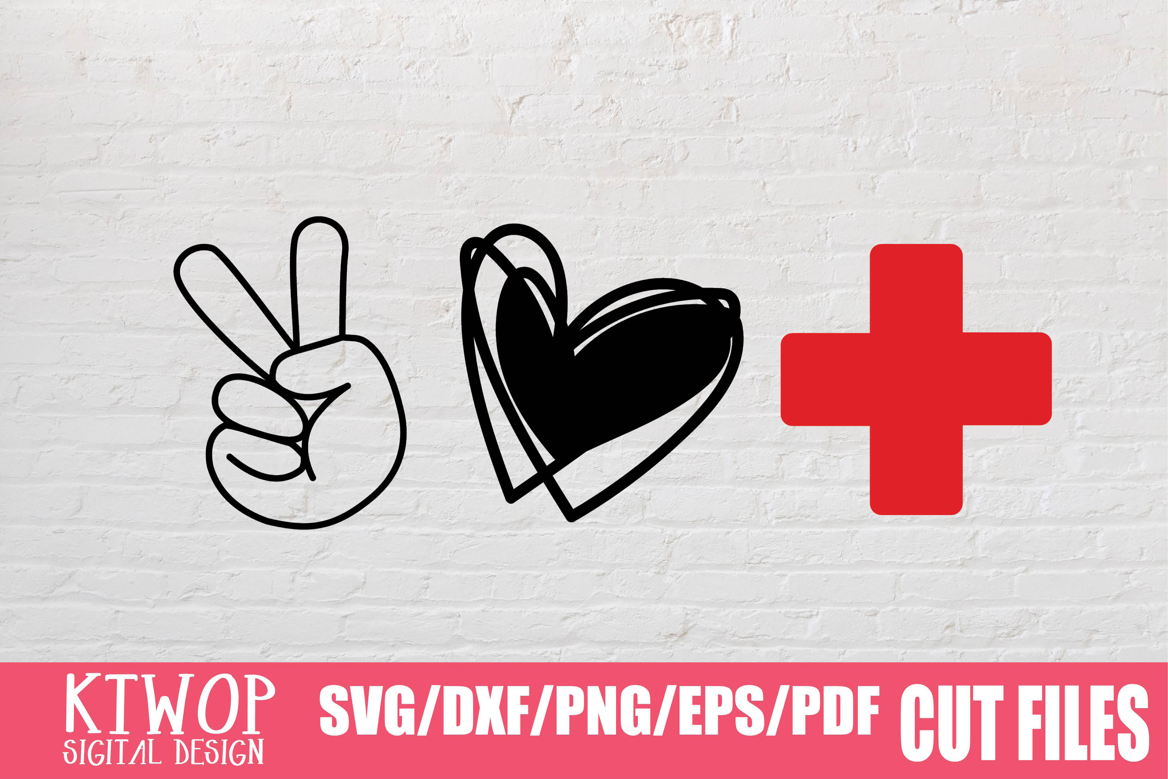 Peace Love Nurse 2020 Graphic By Ktwop Creative Fabrica