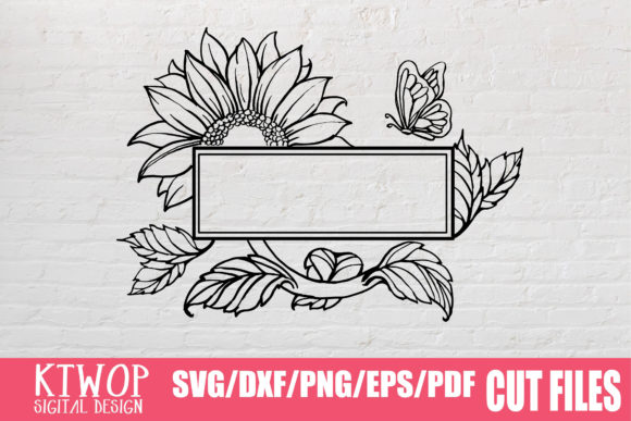 Download Free Sunflower Badge 2020 Graphic By Ktwop Creative Fabrica for Cricut Explore, Silhouette and other cutting machines.