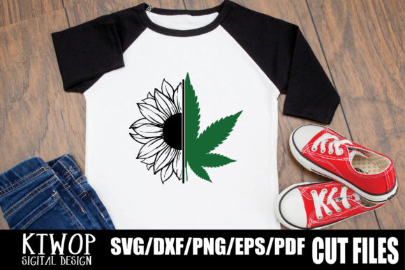 Download Free Sunflower Cannabis 2020 Graphic By Ktwop Creative Fabrica for Cricut Explore, Silhouette and other cutting machines.