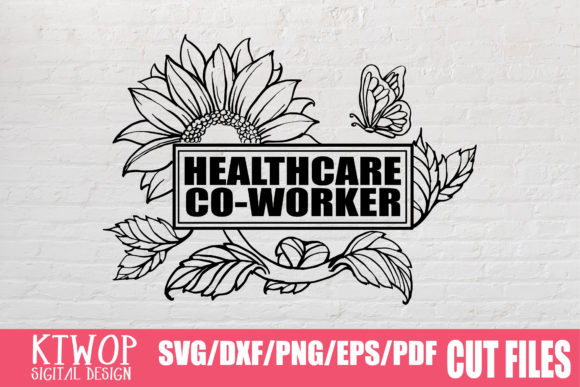 Download Free Sunflower Healthcare Worker 2020 Graphic By Ktwop Creative Fabrica for Cricut Explore, Silhouette and other cutting machines.