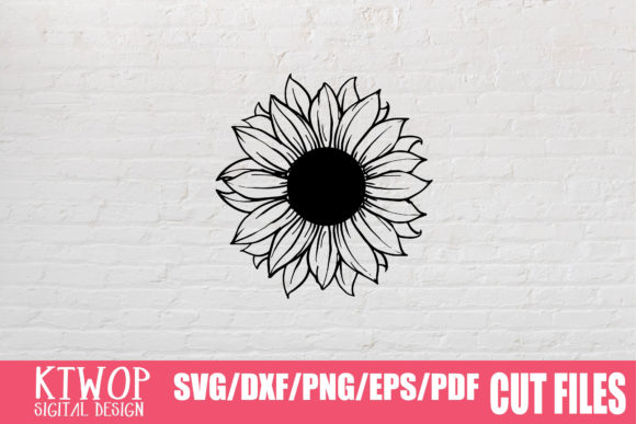 Download Free Sunflower Monogram 2020 Graphic Graphic By Ktwop Creative Fabrica for Cricut Explore, Silhouette and other cutting machines.