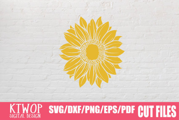 Download Free Sunflower Monogram 2020 Graphic By Ktwop Creative Fabrica for Cricut Explore, Silhouette and other cutting machines.
