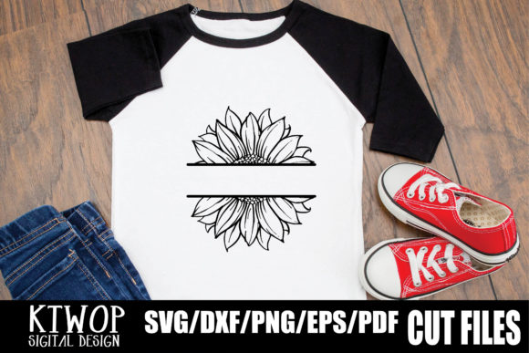 Download Free Sunflower Monogram Graphic By Mr Pagman Creative Fabrica SVG Cut Files