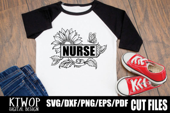 Download Free Sunflower Nurse Medical 2020 Graphic By Ktwop Creative Fabrica for Cricut Explore, Silhouette and other cutting machines.