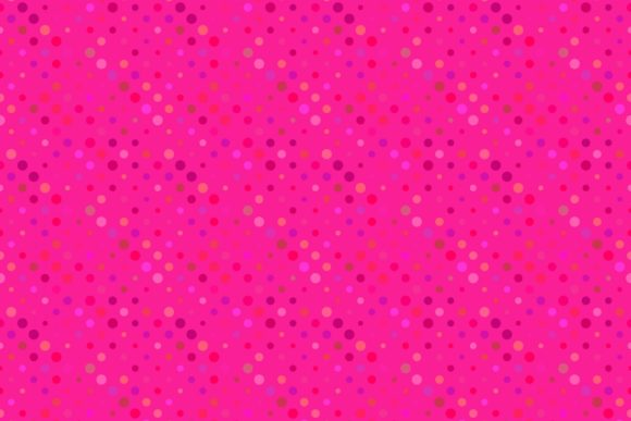 Download Free Seamless Pink Dot Pattern Graphic By Davidzydd Creative Fabrica for Cricut Explore, Silhouette and other cutting machines.