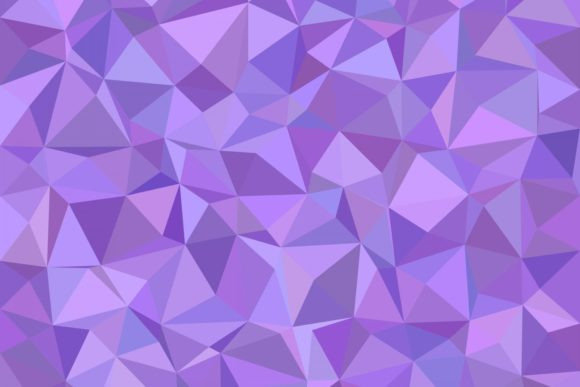 Triangle Mosaic Background Graphic Backgrounds By davidzydd - Image 1