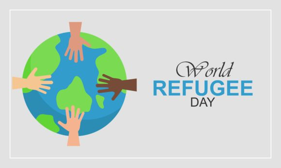 Download Free World Refugee Day 20 June Human Hands Graphic By Deemka for Cricut Explore, Silhouette and other cutting machines.