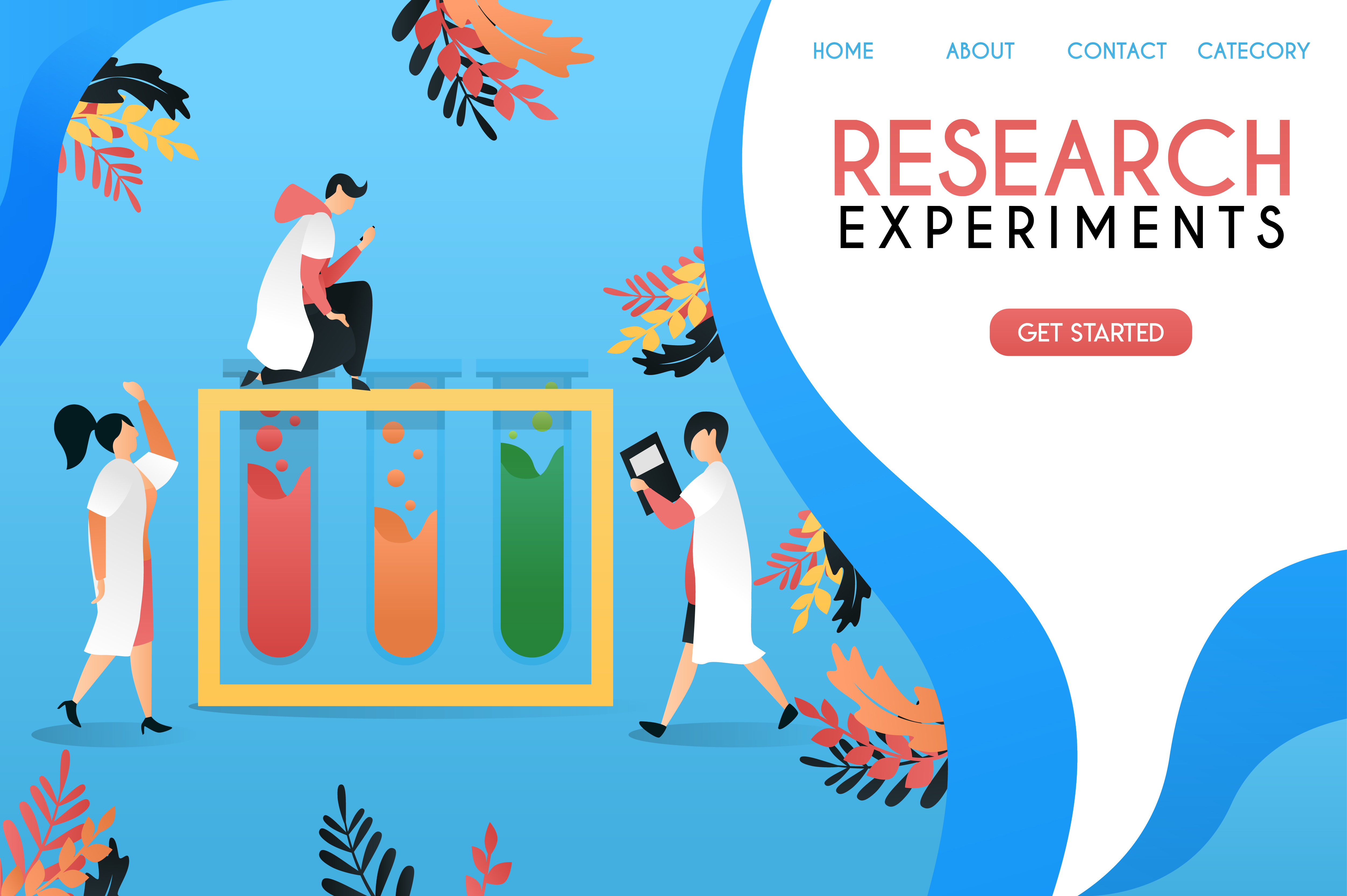 Research And Experiment Laboratory Graphic By Setiawanarief111