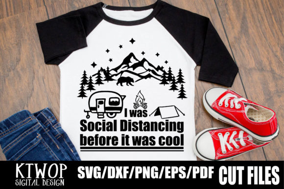 Social Distancing Before It Was Cool Graphic By Ktwop Creative Fabrica