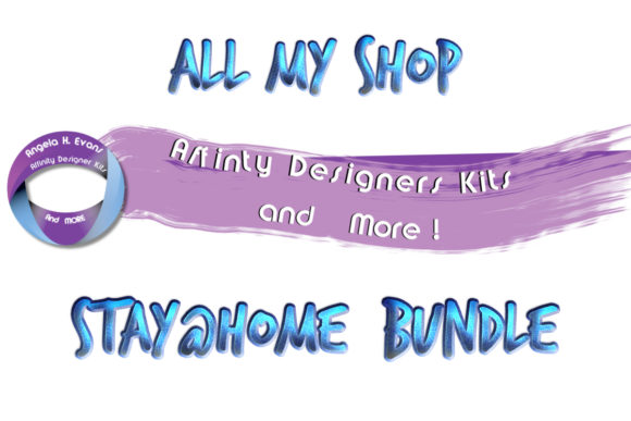 Print on Demand: ALL My Shop Stay@Home  Bundle!  By Angela H. Evans