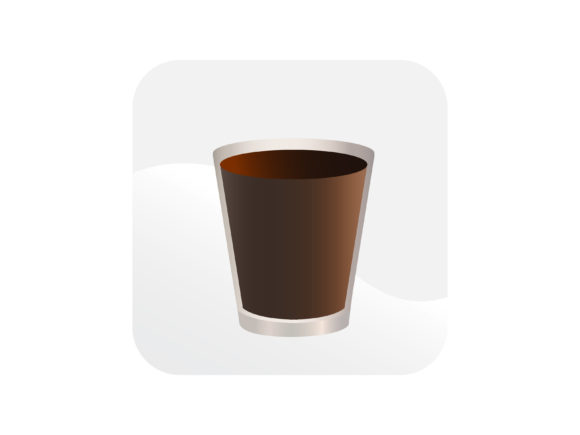 Download Free Black Coffee Icon Graphic By Samagata Creative Fabrica for Cricut Explore, Silhouette and other cutting machines.