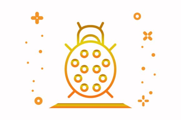 Download Free Bug Graphic By Astuti Julia93 Gmail Com Creative Fabrica for Cricut Explore, Silhouette and other cutting machines.