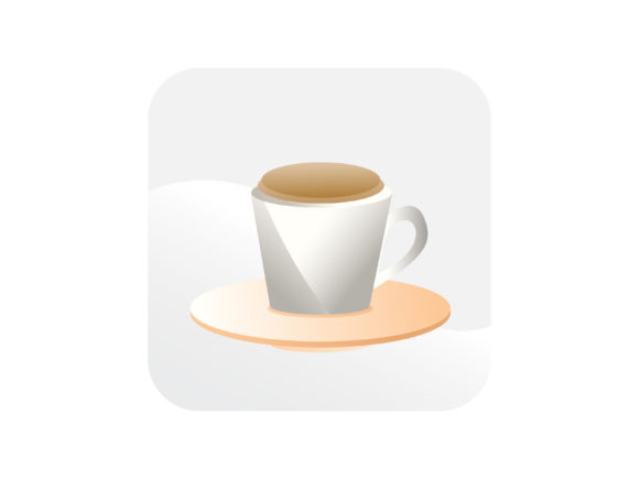 Download Free Coffeemilk Tea Icon Graphic By Samagata Creative Fabrica for Cricut Explore, Silhouette and other cutting machines.