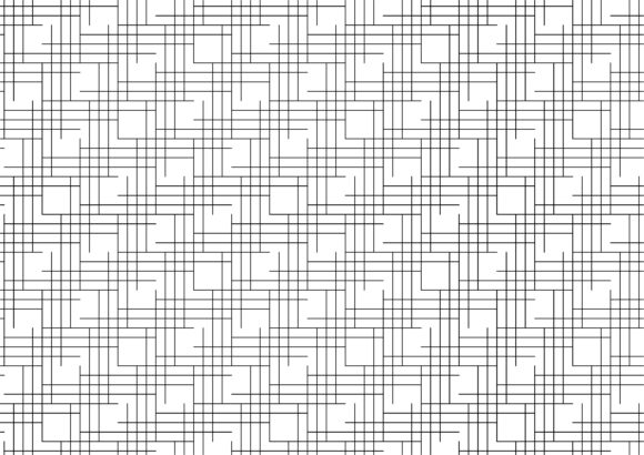 Corner Line Art Graphic Patterns By asesidea