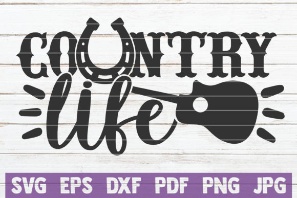 Download Free Country Life Graphic By Mintymarshmallows Creative Fabrica for Cricut Explore, Silhouette and other cutting machines.