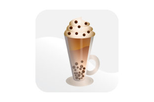 Download Free Frappucino Icon Graphic By Samagata Creative Fabrica for Cricut Explore, Silhouette and other cutting machines.