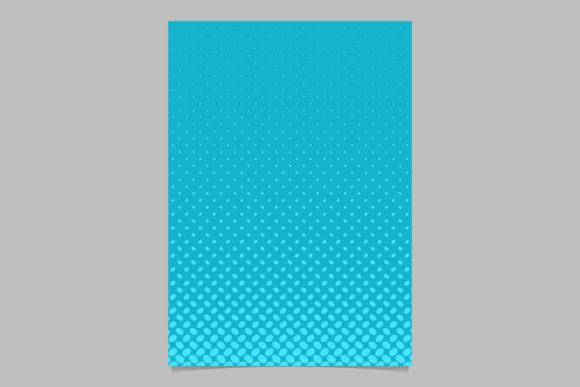 Download Free Halftone Pattern Brochure Background Graphic By Davidzydd for Cricut Explore, Silhouette and other cutting machines.