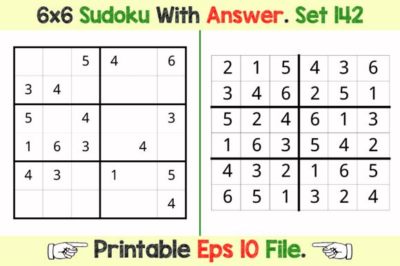 Kdp Interior Sudoku Puzzle Games Graphic By