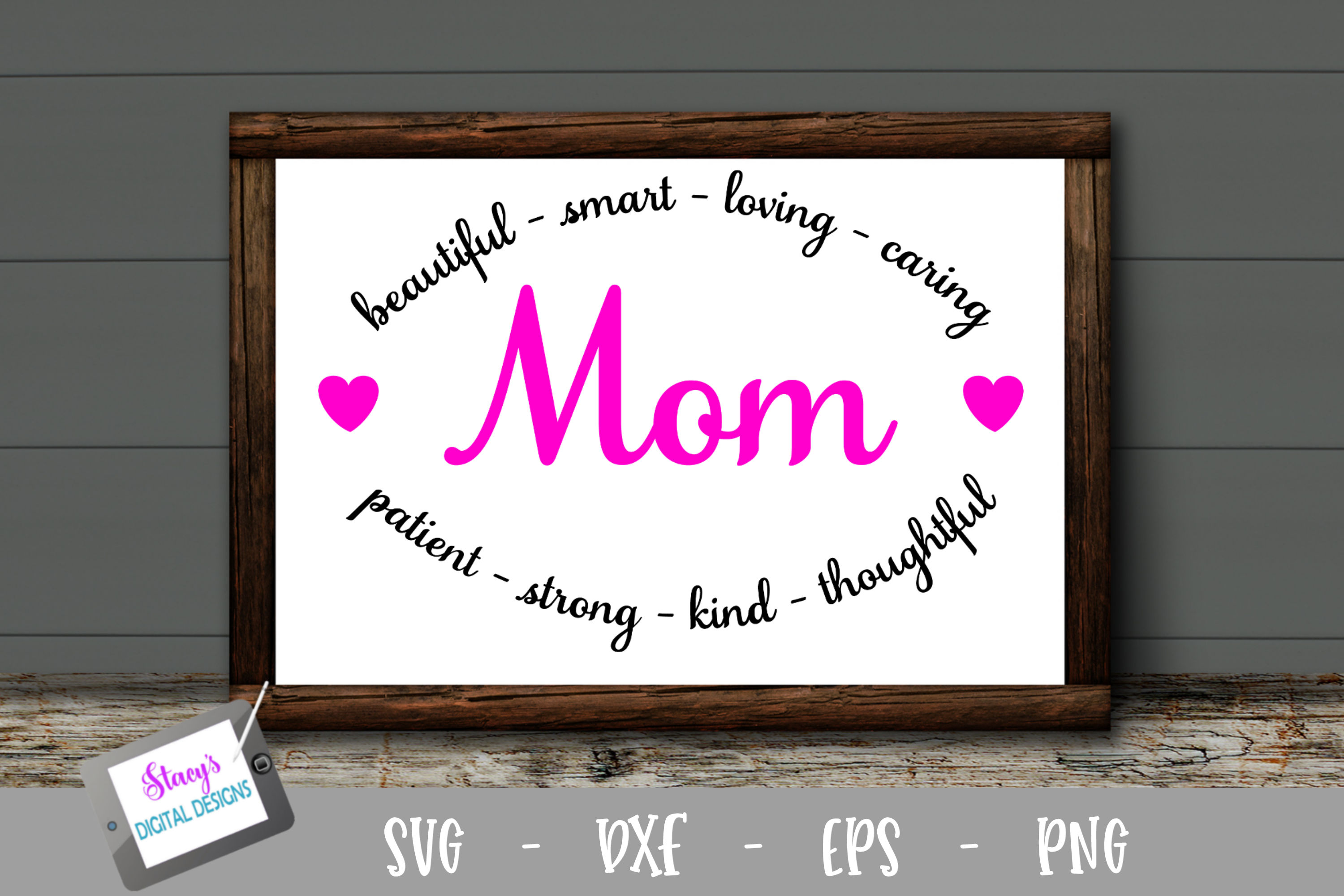 Download Free Mom Mom In Arches Graphic By Stacysdigitaldesigns Creative for Cricut Explore, Silhouette and other cutting machines.