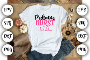Download Free Pediatric Nurse Graphic By Design Store Creative Fabrica for Cricut Explore, Silhouette and other cutting machines.