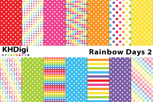 Download Free Essentials Fun Coloured Polka Dots Graphic By Khdigi SVG Cut Files