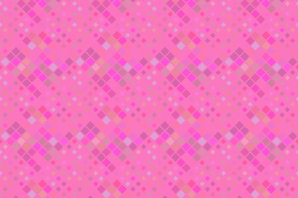 Seamless Pink Square Pattern Graphic By Davidzydd Creative Fabrica