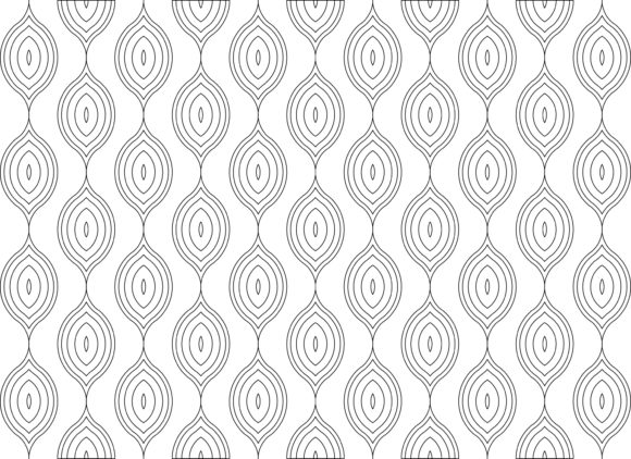 Seamless Of Japanese Lines Pattern Graphic By Asesidea