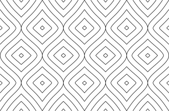 Download Free Seamless Rhombus Line Of Pattern Vector Graphic By Asesidea for Cricut Explore, Silhouette and other cutting machines.