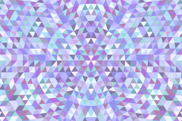 Triangle Mosaic Mandala Background Graphic Patterns By davidzydd