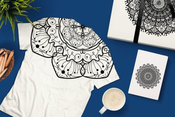 Download Free Vector Mandala Collection Graphic By Barsrsind Creative Fabrica for Cricut Explore, Silhouette and other cutting machines.
