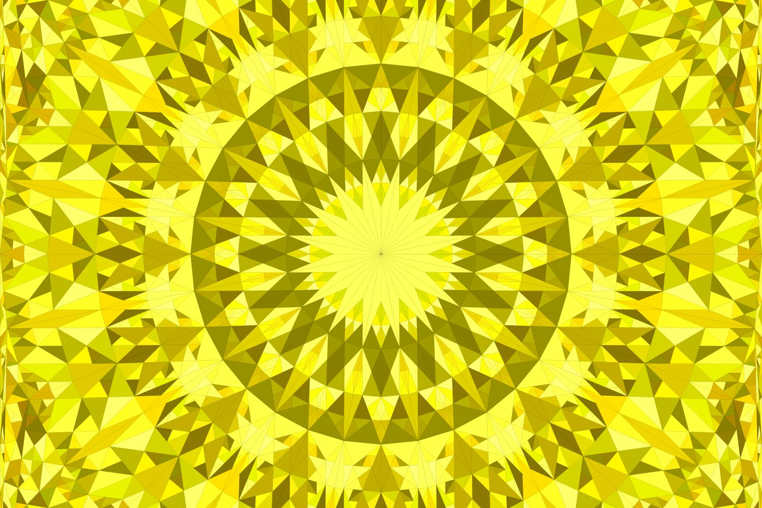 Download Free Yellow Seamless Mandala Pattern Graphic By Davidzydd Creative for Cricut Explore, Silhouette and other cutting machines.