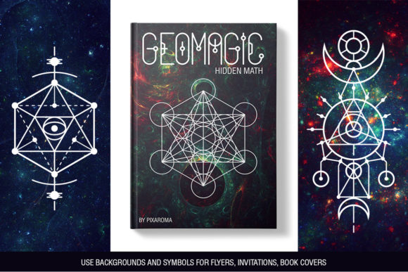 Download Free 100 Sacred Geometry Symbols Graphic By Pixaroma Creative Fabrica SVG Cut Files