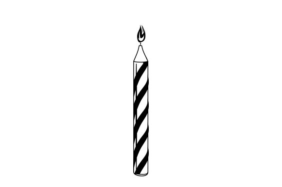 Download Free Birthday Candle Svg Cut File By Creative Fabrica Crafts for Cricut Explore, Silhouette and other cutting machines.